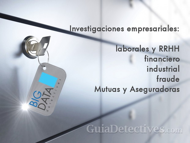 Big Data Detectives Zaragoza empresa laboral bajas RRHH financiero fraude mutuas fraude asegurador